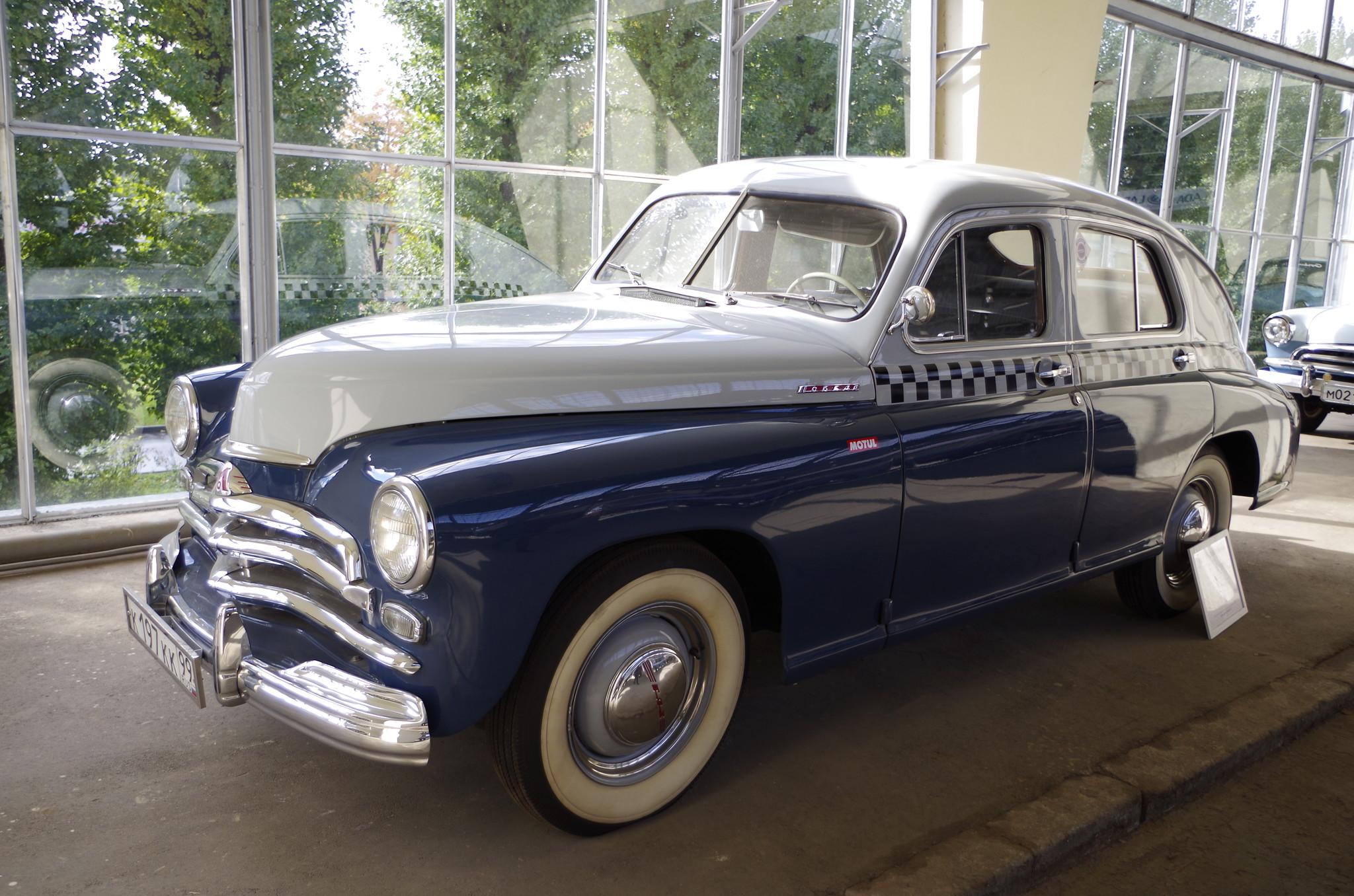 ГАЗ-М-20А «Победа» такси