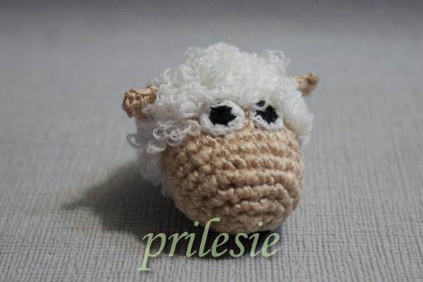 вяжем овечку