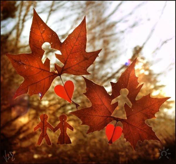 Необычная осень рисунок