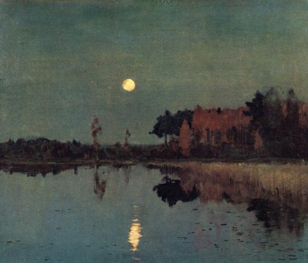 Сумерки луна 1899 в конце жизни для