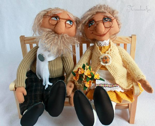 Сделать бабушку и дедушку своими руками