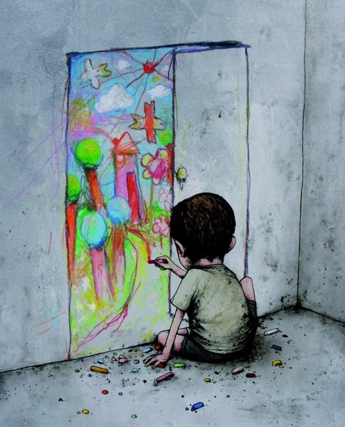 Фильм мальчик рисует на стене