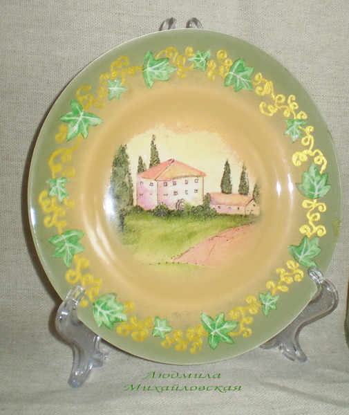 тарелка Тоскана