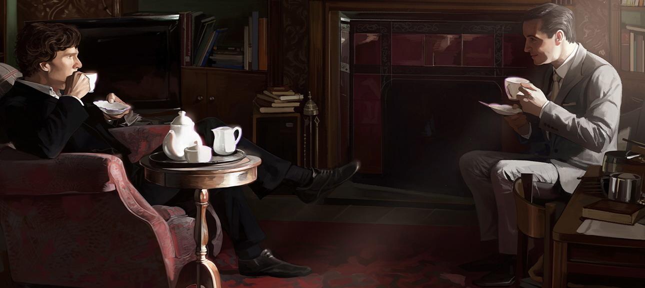 Шерлок и Мориарти