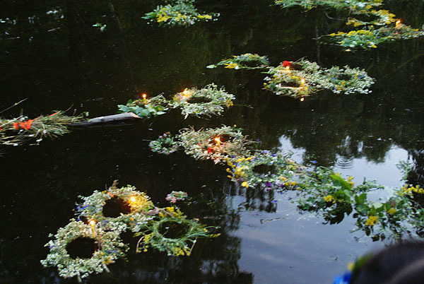 Венок - Легенды и поверья о цветах