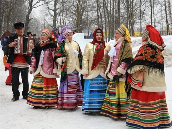 Картинки с народным весельем зимой в старину