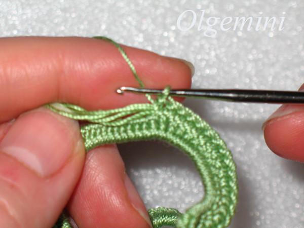 Переворачиваем вязание