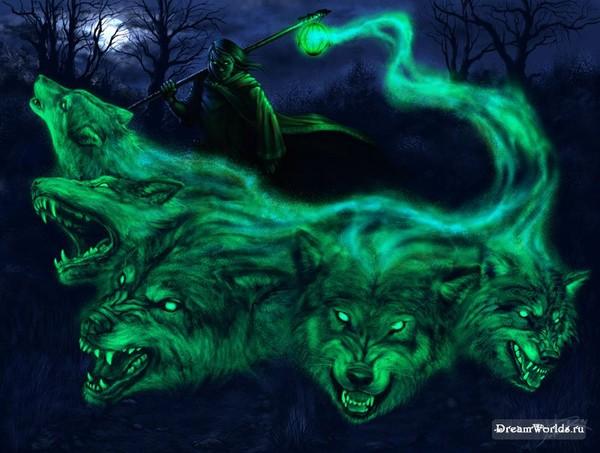 картинки оборотня-волка