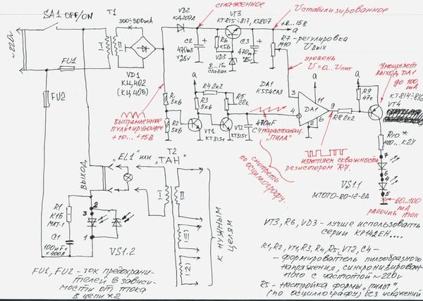 оптотиристоры модуля (80А)