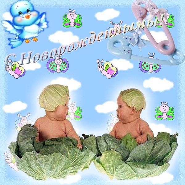 Поздравление для внуков двойняшек от бабушки