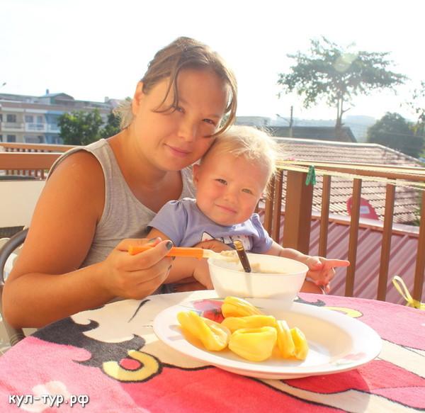 завтрак в тайланде