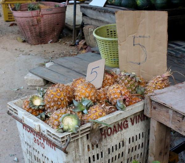 цены на ананас
