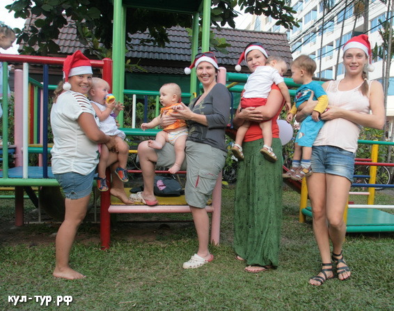 дети в тайланде