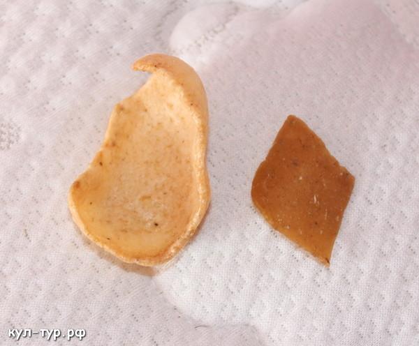 жаренные чипсы