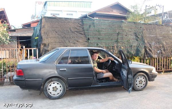 машина в тайланде