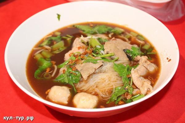 нудл суп тайская еда