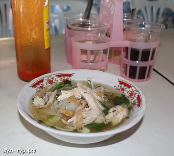 еда в тайланде не острая