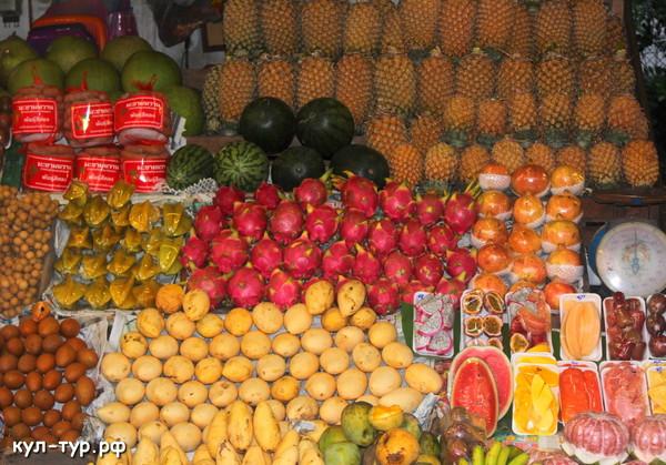 тропические экзотические фрукты