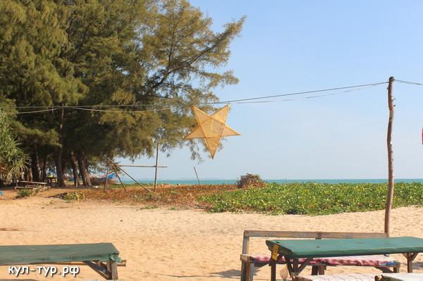 пляж в районге