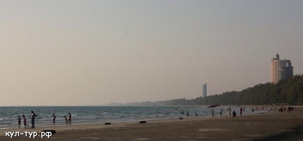 большой пляж