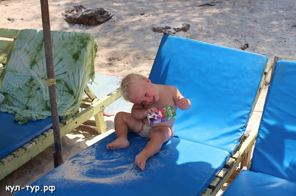 поездка с ребёнком на острова
