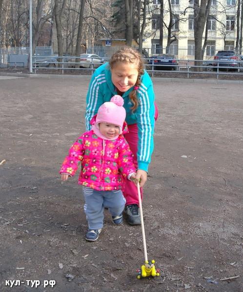 весенние прогулки с ребёнком