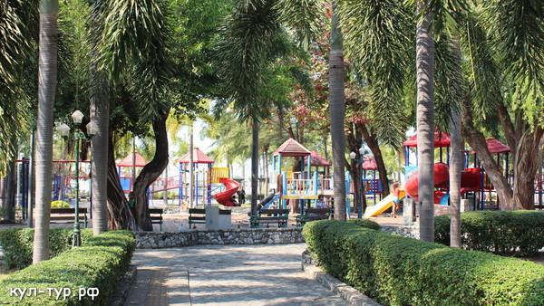 детская площадка в паттайе тайланд