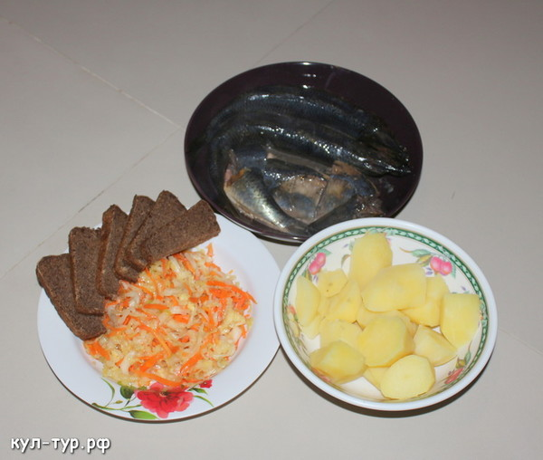 русский ужин