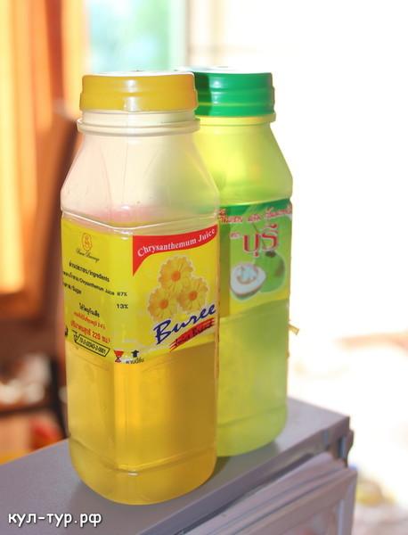 напитки в тайланде