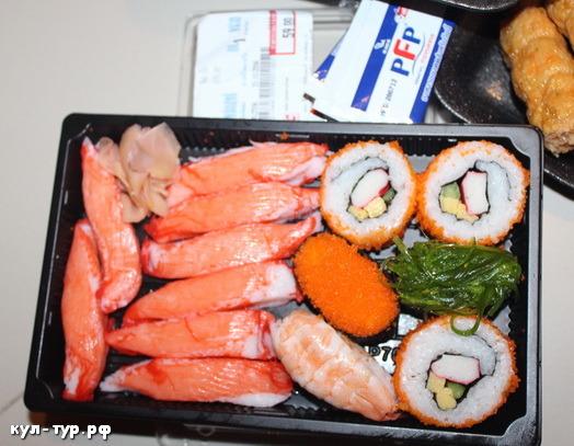 суши в тайланде
