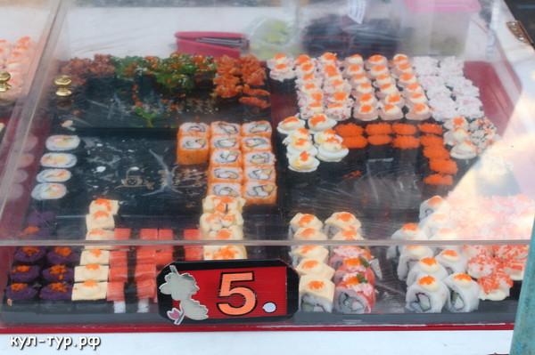 рынки тайланда купить суши