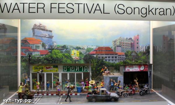 сонгкран тайский новый год