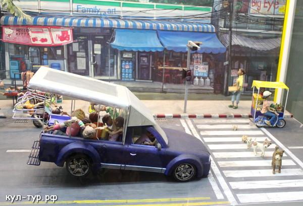 транспорт в тайланде