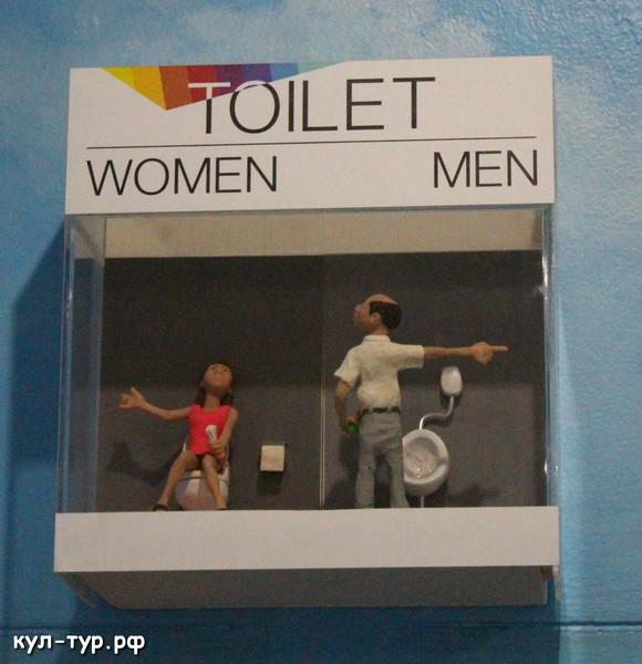 обозначение туалета