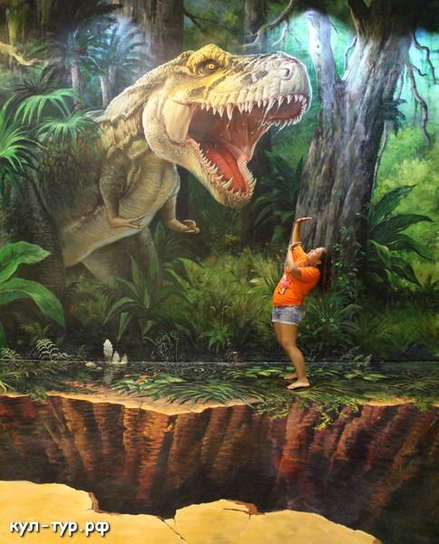 тиранозавр живой динозавр