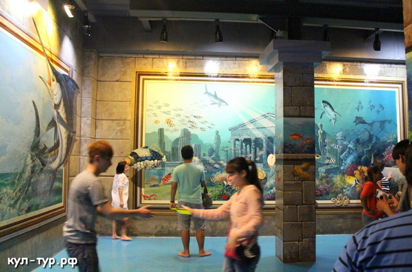 океанариум в 3д музее