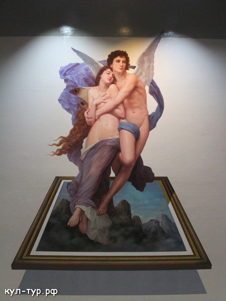 картины в 3д музее