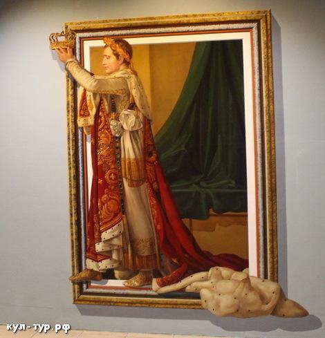 картины в 3д музее - цезарь