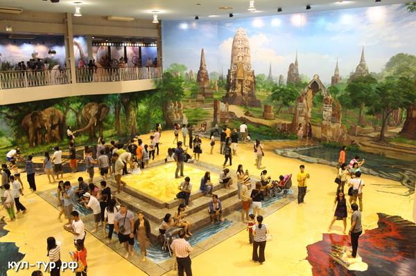 залы в 3д музее