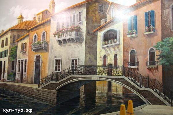 картины в 3д музее - венеция