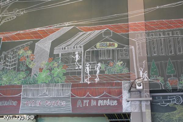 кафе в арт гелерее