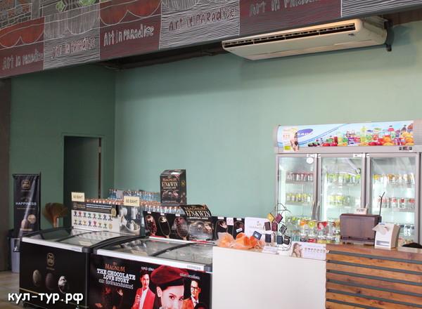 тайское кафе в музее