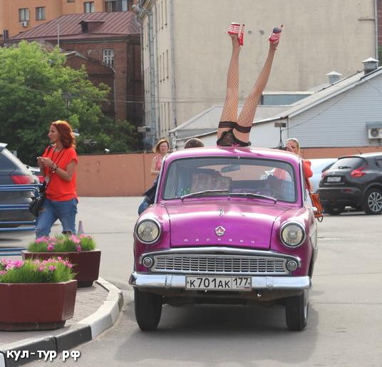 старый москвич в москве