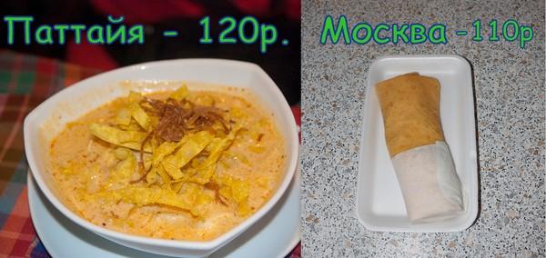 сравнение цен москва тайланд