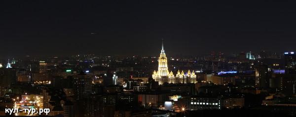 ночная Москва фото видео
