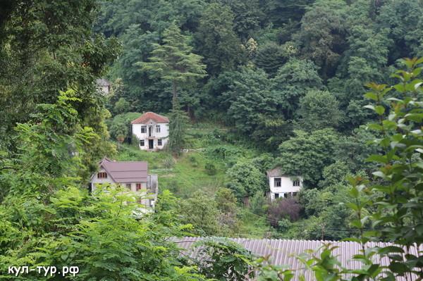 домики в абхазии