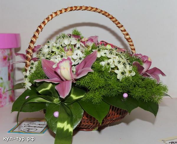 заказ букетов корзины цветы свадьба