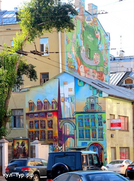 Москва красивая