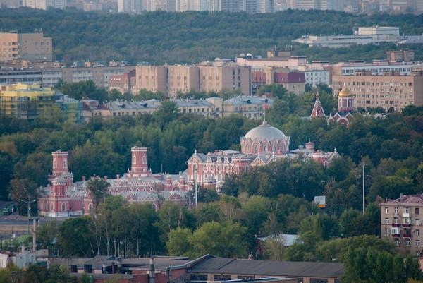 гостевой петровский дворец