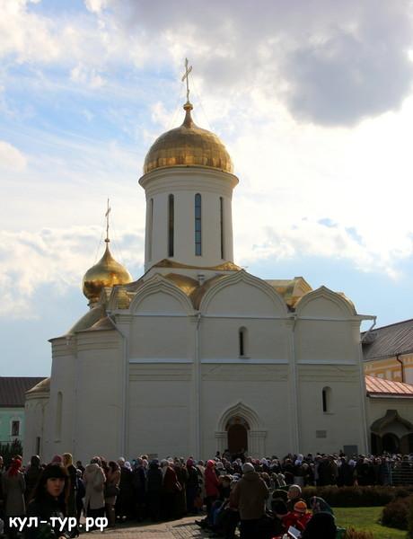 собор Сергея Радонежского Троицкий собор
